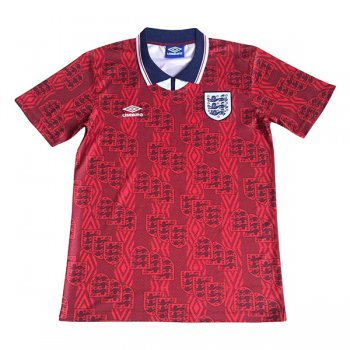 1994-1995 England Away Red Retro Jersey