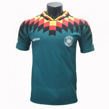 1994 Germany Away Retro Soccer Jersey