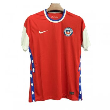 2020 Chile Home Red Soccer Jersey Shirt