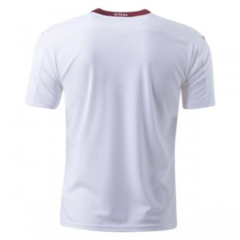 2020 Switzerland Away White Soccer Jersey Shirt