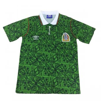 1994 Mexico Home Retro Soccer Jersey Shirt