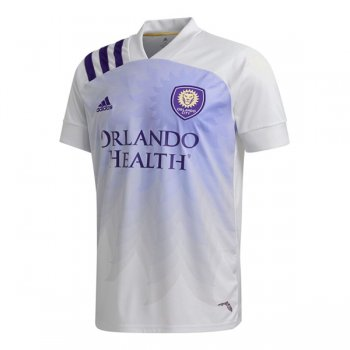 2020 Orlando City Away White Soccer Jersey