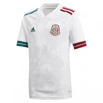 2020 Mexico Away White Soccer Jersey Shirt