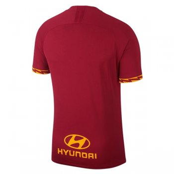 19-20 AS Roma Home Soccer Jersey Shirt