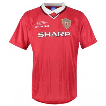 1999-2000 Manchester United Champion League Final Retro Jersey