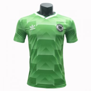 1988-1990 West Germany Away Green Retro Jersey
