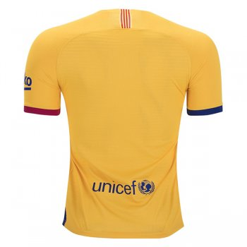 19-20 Barcelona Away Yellow Authentic Jersey(Player Version)