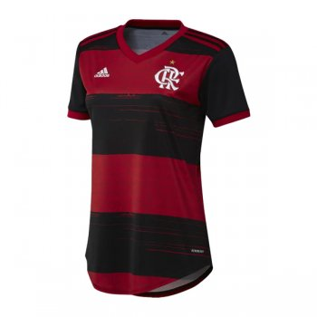 20-21 Flamengo Home Women Soccer Jersey Shirt