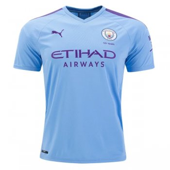 19-20 Manchester City Home Blue Soccer Jersey