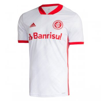 20-21 SC Internacional Away White Soccer Jersey Shirt