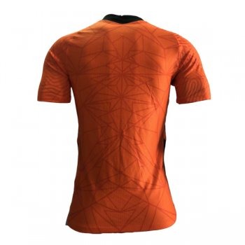 2020 Netherlands Home Orange Authentic Soccer Jersey (Player Version)