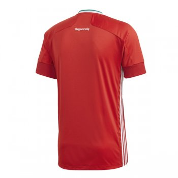 2020 Hungary Home Soccer Jersey Shirt