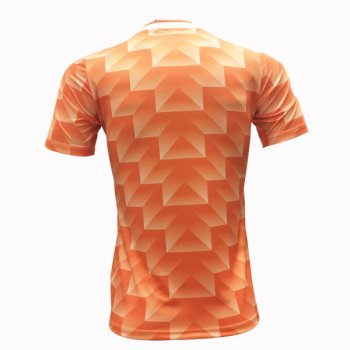 1988 Netherlands Home Retro Jersey Shirt