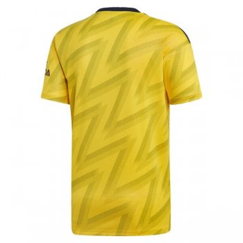 19-20 Arsenal Away Yellow Soccer Jersey Shirt