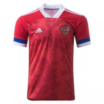 2020 Russia Home Red Soccer Jersey Shirt