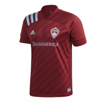 2020 Colorado Rapids Home Red Soccer Jersey