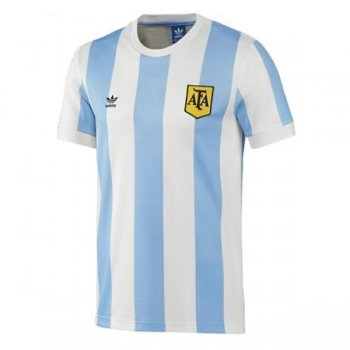 1978 Argentina Home Blue&White Retro Jersey Shirt