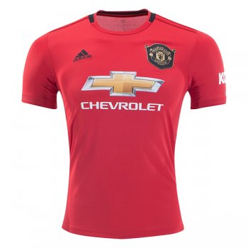 19-20 Manchester United Home Soccer Jersey Shirt