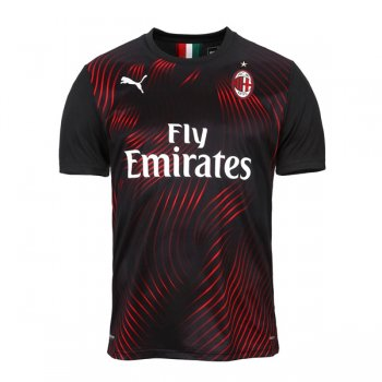 19-20 AC Milan Third Black Jersey Shirt