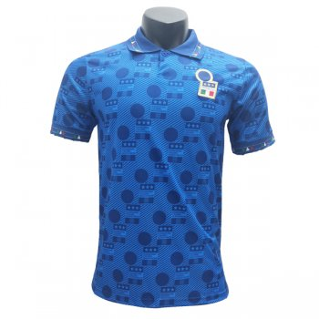 1994 World Cup Italy Home Blue Retro Jersey Shirt