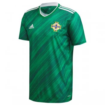 2020 Northern Ireland Home Green Soccer Jersey Shirt