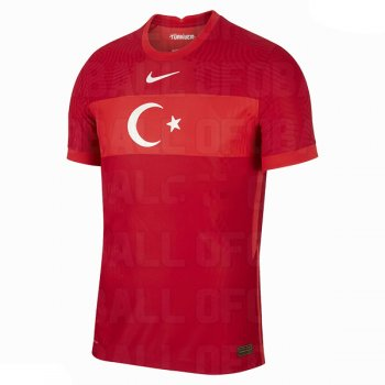 2020 Turkey Home Red Soccer Jersey Shirt
