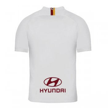 19-20 AS Roma Away White Soccer Jersey Shirt