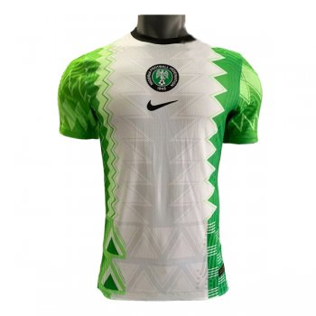 2020 Nigeria Home Authentic Soccer Jersey Shirt (Player Version)