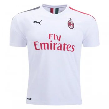 19-20 AC Milan Away White Jersey Shirt