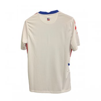 2020 Chile Away White Soccer Jersey Shirt