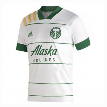 2020 Portland Timbers Away White Soccer Jersey Shirt