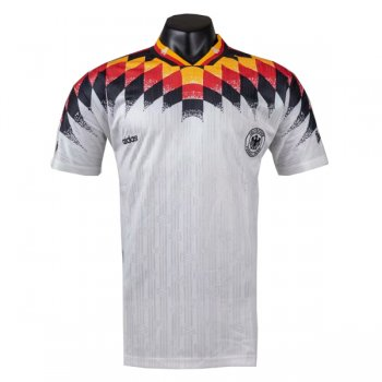 1994 Germany Home White Retro Jersey Shirt