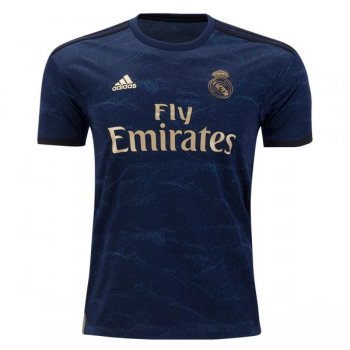 19-20 Real Madrid Away Navy Soccer Jersey Shirt