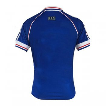 1998 France Home Retro World Cup Final Jersey Shirt