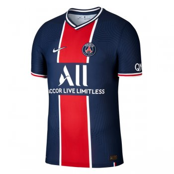 20-21 PSG Home Authentic Vapor Match Jersey Shirt (Player Version)