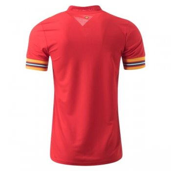 2020 Wales Home Soccer Jersey Shirt