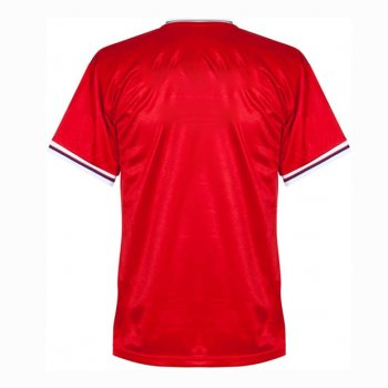 1980-1982 England Away Red Retro Jersey