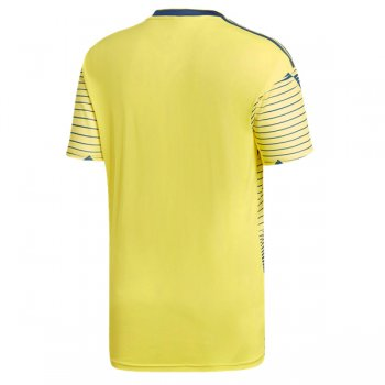 2019 Colombia Home Yellow Soccer Jersey Shirt