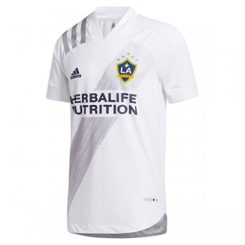 2020 LA Galaxy Home Authentic White Soccer Jersry (Player Version)