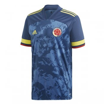 2020 Colombia Away Navy Soccer Jersey
