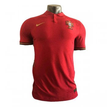 2020 Portugal Home Authentic Jersey (Player Version)