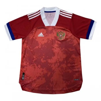 2020 Russia Home Authentic Soccer Jersey (Player Version)