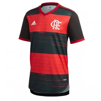 20-21 Flamengo Home Authentic Soccer Jersey (Player Version)
