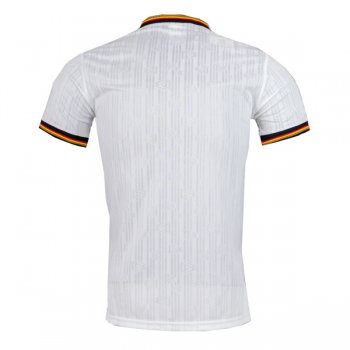 1996 Germany Home White Retro Jersey Shirt