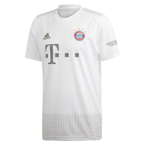 19-20 Bayern Munich Away White Soccer Jersey