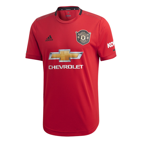 19-20 Manchester United Authentic Home Soccer Jersey (Player Version)