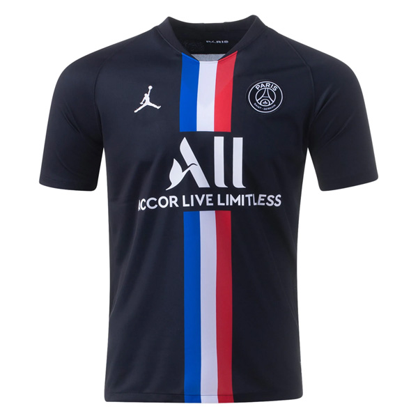 19-20 PSG Fourth Black Soccer Jersey Shirt