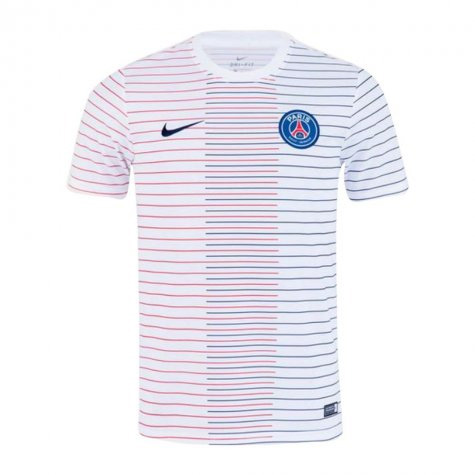 19-20 PSG Pre-Match Training Jersey White