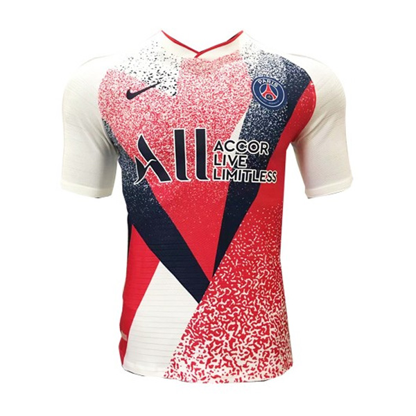 19-20 PSG Red&White Pre-Match Training Jerseys Shirt (Player Version)