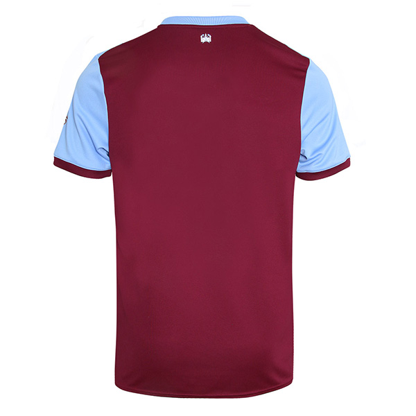 19-20 West Ham United Home Red Soccer Jersey Shirt ...